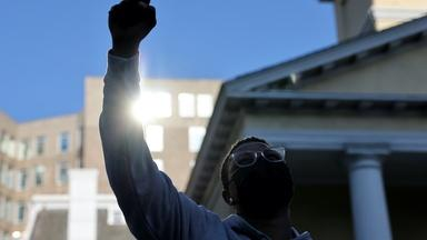 Floyd's supporters want systemic change after guilty verdict