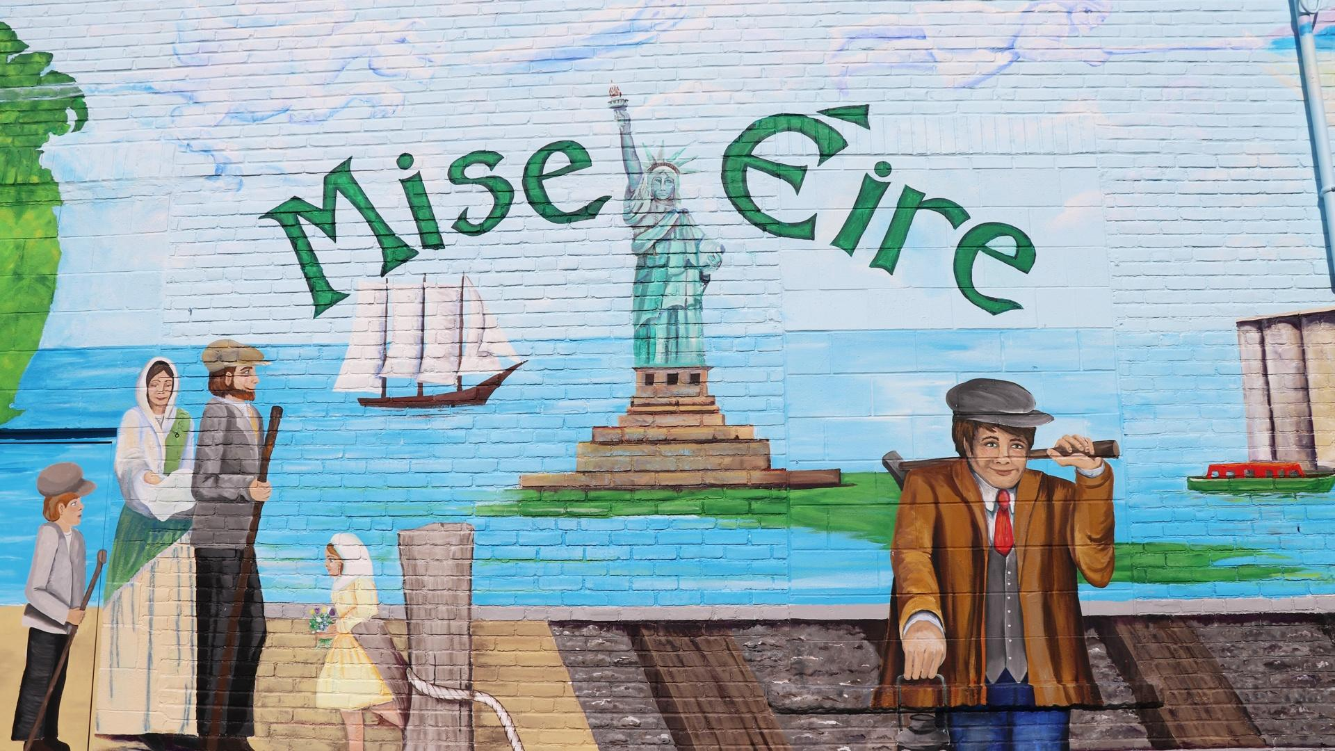 Mise Eire Irish Mural