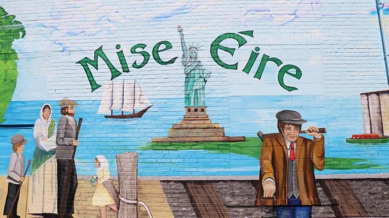 Making Buffalo Home: Mise Eire Irish Mural