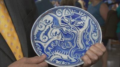 Antiques Roadshow | Appraisal: Shearwater Pottery Plate, ca. 1960