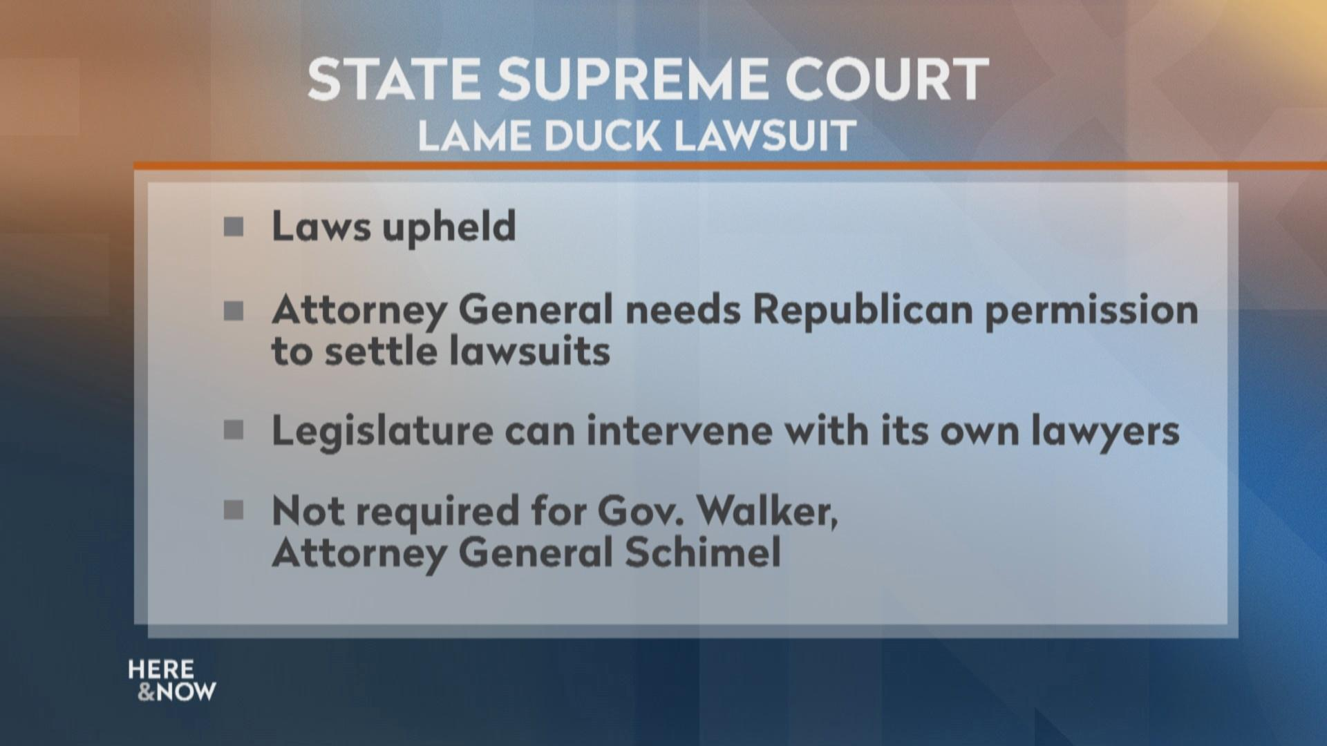 Lame Duck: Supreme Court Strikes Another Blow to Evers Admin