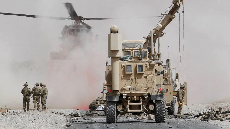 Trump administration weighs path forward on Afghanistan war image