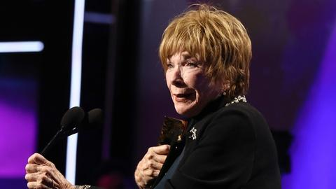 Great Performances -- Shirley MacLaine's Acceptance Speech