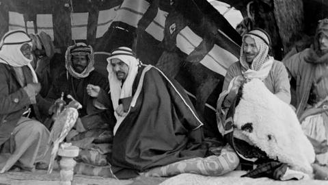 Gertrude Bell Meets the Howeitat Tribe