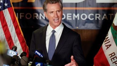 Newsom on $123B California schools plan, oil spill clean up