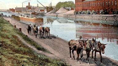 Web Extra: When Mules Ruled the Canal