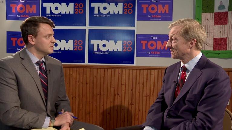 This Week in South Carolina: Tom Steyer and David Levine