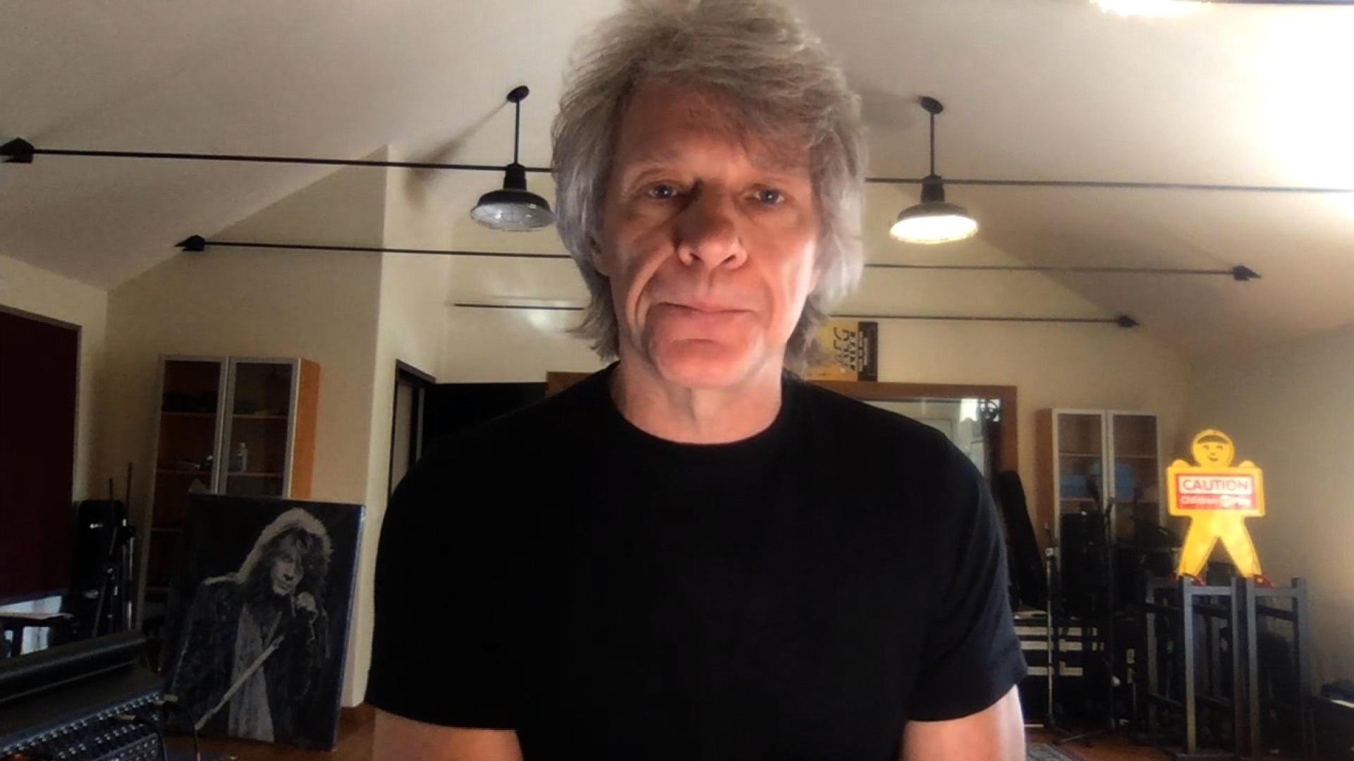 Amanpour And Company Fans Help Jon Bon Jovi Write New Song Do What You Can Season 2020 Pbs