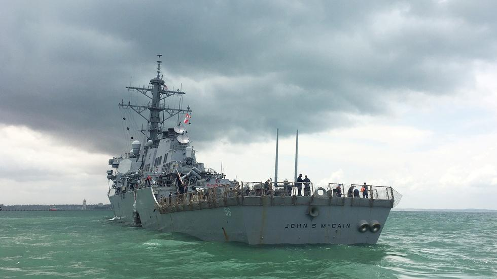 Do repeated Navy collisions suggest a systemic problem? image