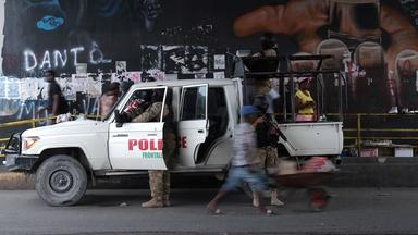 The latest on the assassination investigation in Haiti