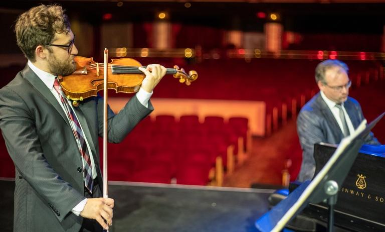 Knoxville Symphony Orchestra 2020 Concertmaster Performance