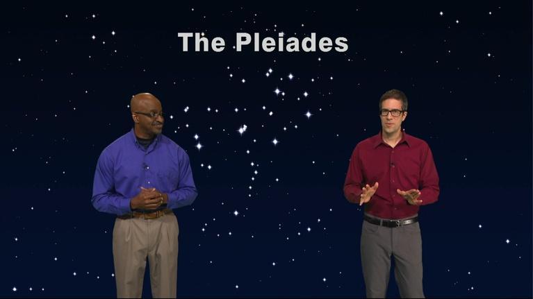 """Star Gazers: """"The Pleiades and Their Cousins"""" Nov 19 - 25th, 2018  5 Min"""