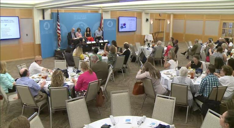 The City Club Forum: On the FRONT Lines: Art in an American City