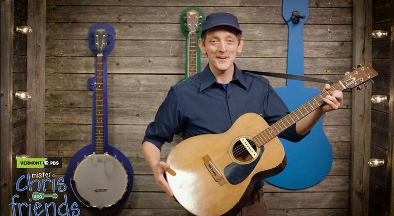 Mister Chris and Friends: Meet a new friend: Guitar