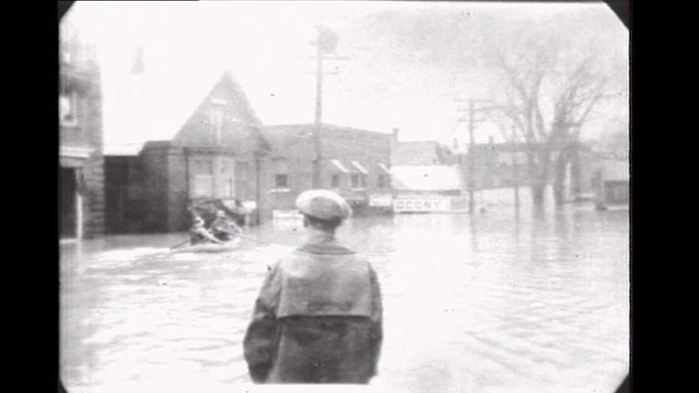 From The Archives: And the Water Came Down from the Hills…the 1927 Flood