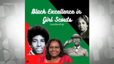 Girl Scouts share and celebrate organization's Black history