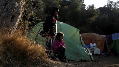 PBS NewsHour -- This Greek island proves European migrant crisis isn't over