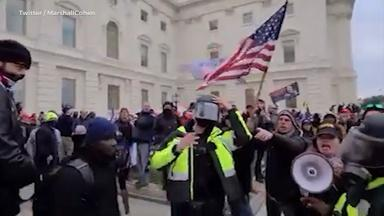 Video shows NJ resident attacking cop during Capitol riot