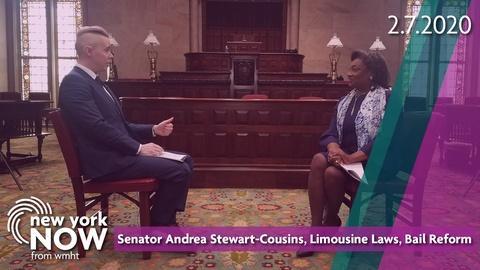 S2020 E6: Senator Andrea Stewart-Cousins, Limousine Laws, Bail Reform