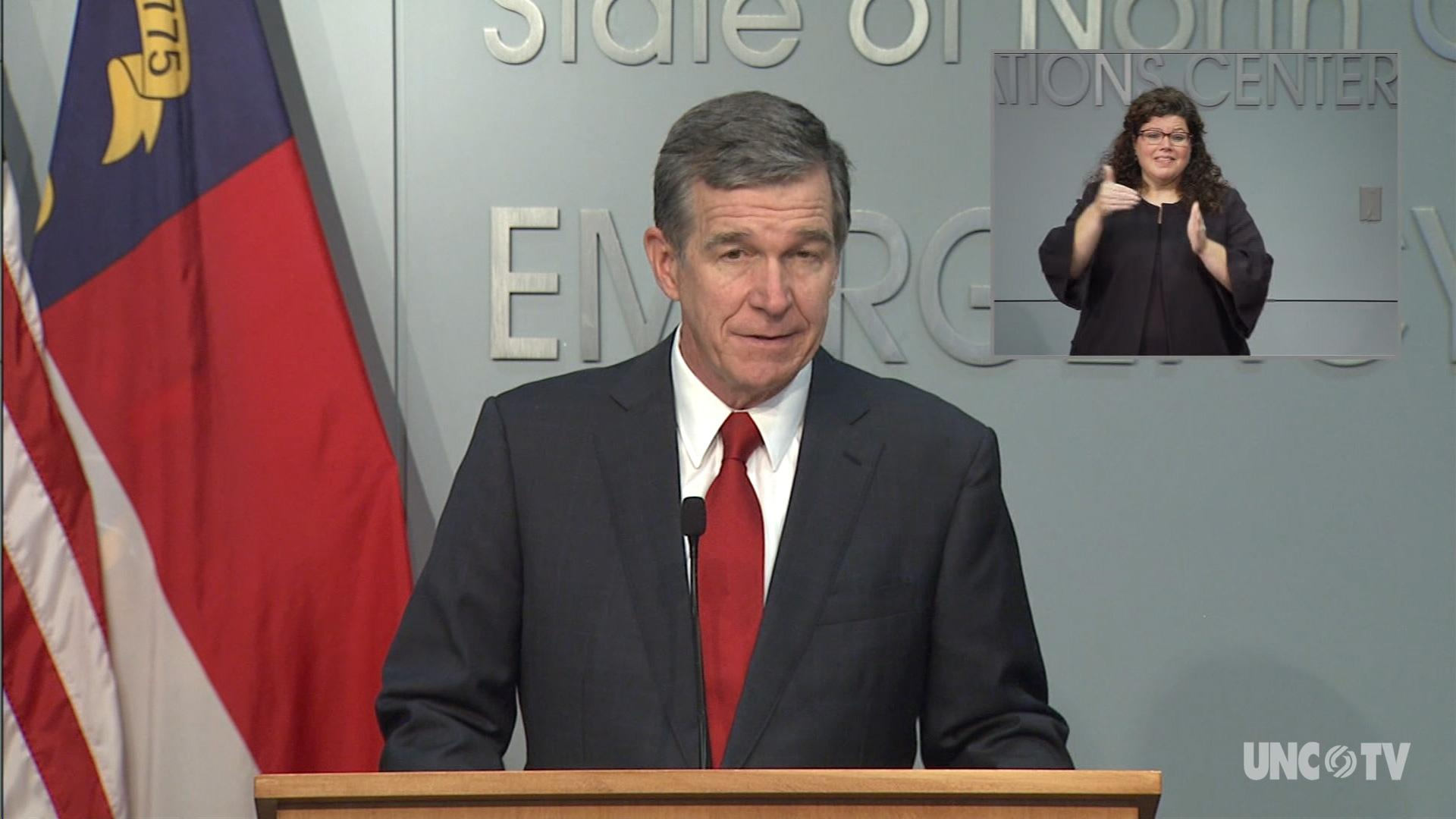 09/30/20 Governor Cooper Briefing (English)