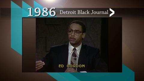 American Black Journal -- Detroit Black Journal Interview: William Lucas