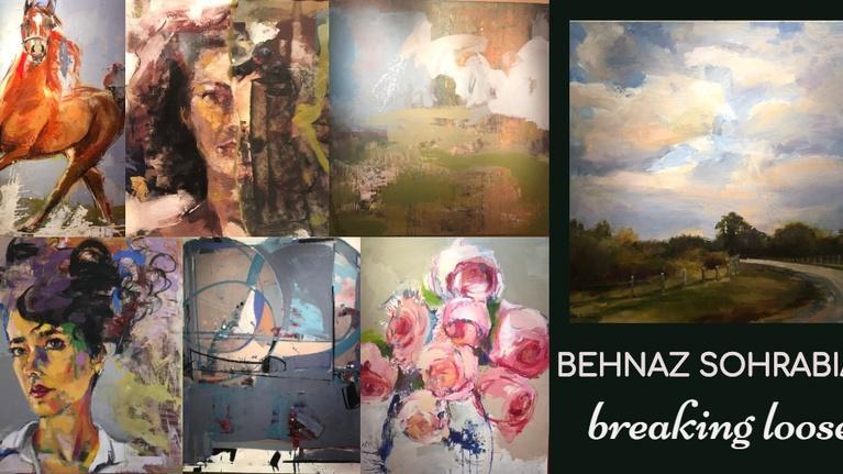 Gallery America: Behnaz Sohrabian: Breaking Loose