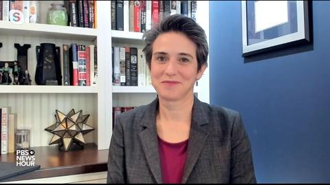 PBS NewsHour -- Tamara Keith and Amy Walter on Biden in the spotlight