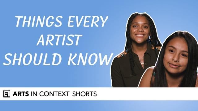 Things Every Artist Should Know