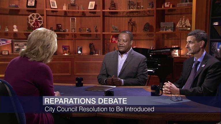 Chicago Tonight: The Reparations Debate is Heading to City Council