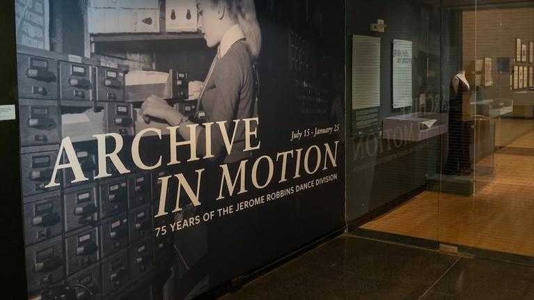 "NYC-ARTS: This Week at Lincoln Center: ""Archive in Motion"""