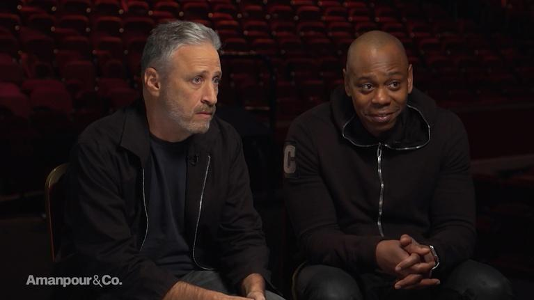 Amanpour and Company: Dave Chappelle & Jon Stewart on Comedy & Trump