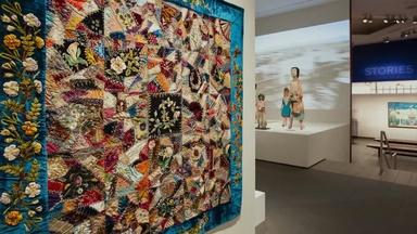 """NYC-ARTS Choice: """"Crazy Quilt"""" at American Folk Art Museum"""