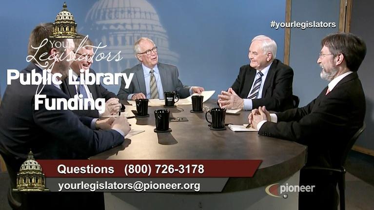Your Legislators: Public Library Funding (April 19)