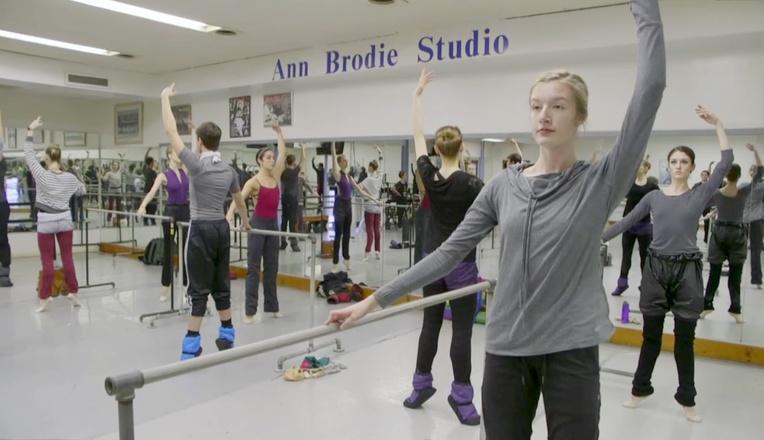 Ballet Dancers logo