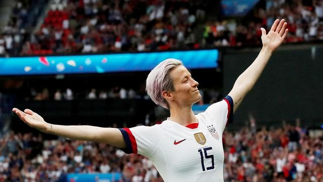 Megan Rapinoe on living in a world created by men