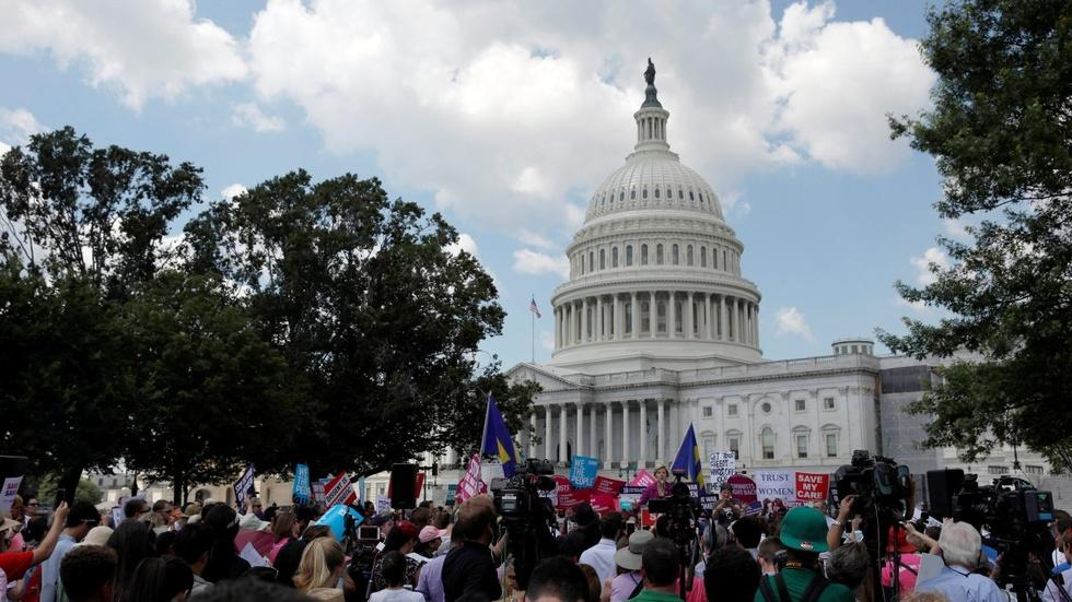 Untangling politics of health care, Russian interference image
