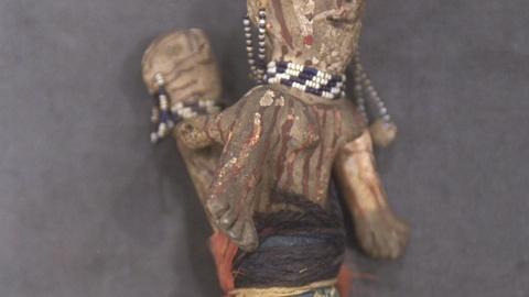 Antiques Roadshow -- S21 Ep24: Appraisal: Mojave Souvenir Figurine, ca. 1895