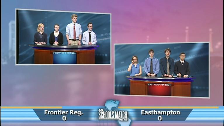 As Schools Match Wits: Frontier Regional vs. Easthampton (Feb. 23, 2019)
