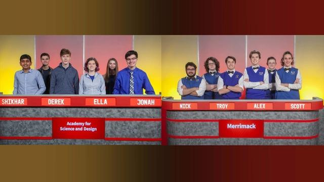 Quarterfinal Match 1 - Merrimack Vs. Academy for Science and