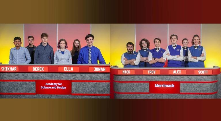Granite State Challenge: Quarterfinal Match 1 - Merrimack Vs. Academy for Science and