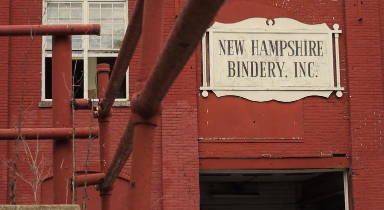Made Here: New Hampshire Bindery
