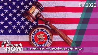 NY vs. NRA, Sen. Luis Sepulveda, SUNY Status