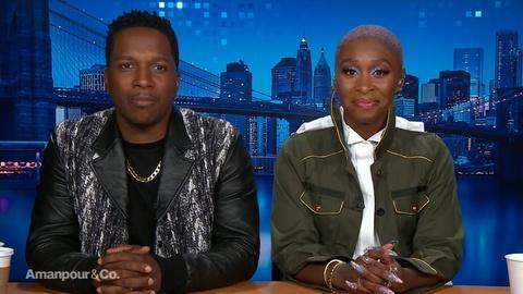 """Amanpour and Company -- Cynthia Erivo & Leslie Odom, Jr. on Their Roles in """"Harriet"""""""