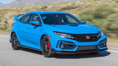 2020 Honda Civic Type R & 2020 Cadillac CT4