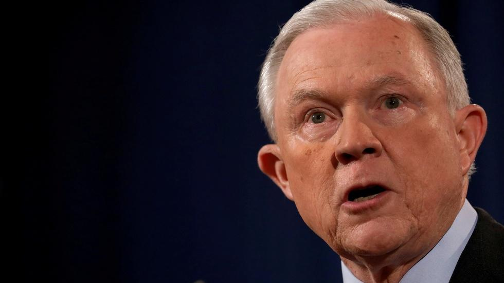 Sessions is dramatically reshaping Justice Department policy image