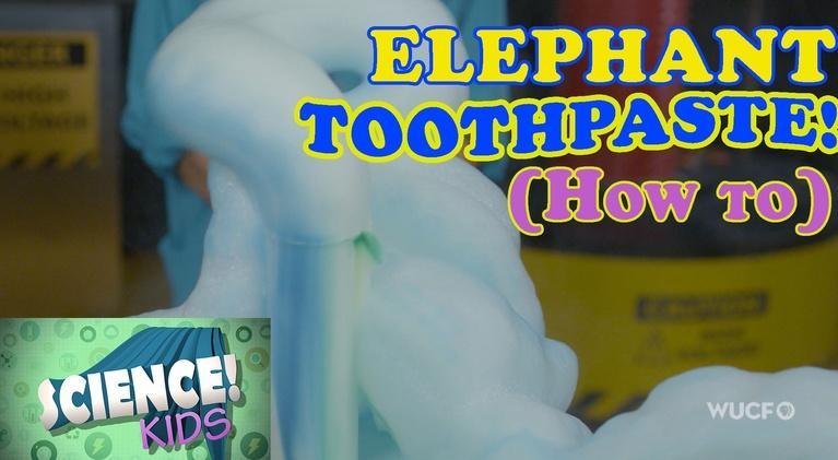Science! KIDS: Elephant Toothpaste