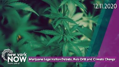 Marijuana Legalization Debate & NY's Climate Change Shift