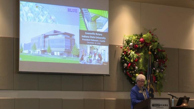 Evansville Rotary Club: Regional Voices: Deborah Curtis, President ISU