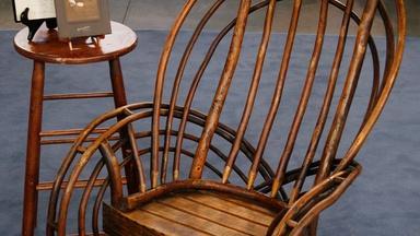 Appraisal: Old Hickory Chair Company Rocker, ca. 1910