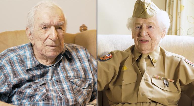 Memoirs of WWII: Raymond Carey and Ilene Hall
